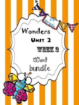 Wonders 2.2 Word Bundle