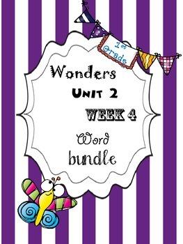 Wonders 2.4 Word Bundle