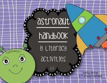 Wonders 2nd Grade Astronaut Handbook 6.3 {8 Literacy Activities}