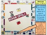 Wonders 2nd Grade Bookopoly Bulletin Board - Yearlong