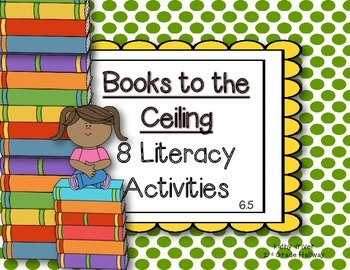 Wonders 2nd Grade Books to the Ceiling 6.5 {8 Literacy Activities}