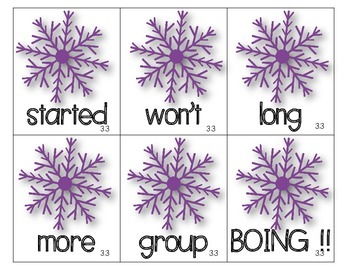 Wonders 2nd Grade High-Frequency Words Unit 3 Games {BOING ! & Memory}