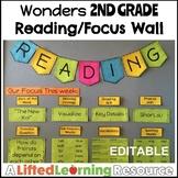 Wonders 2nd Grade Reading / Focus Wall (EDITABLE)