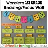 Wonders 1st Grade Reading / Focus Wall (EDITABLE)