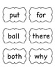 2nd Grade Wonders Reading Vocabulary Cards and High Freque