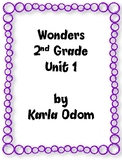 Wonders 2nd Grade Resource for Unit 1