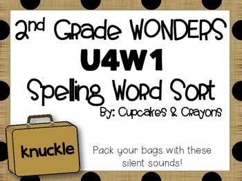 Wonders 2nd Grade U4W1 Spelling Sort