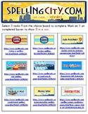 Wonders 2nd Grade Unit 1  Spelling - Spelling City Tic-Tac