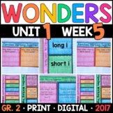 Wonders 2nd Grade, Unit 1 Week 5: Families Working Together Supplements