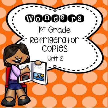 Wonders 2nd Grade Unit 2 Refrigerator Copy