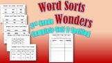 Wonders 2nd Grade Unit 2 Spelling Word Sort Bundle