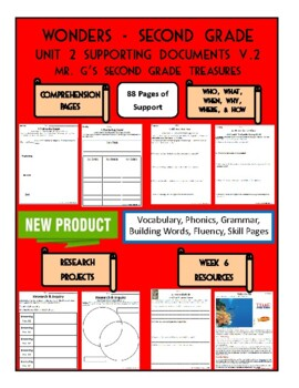 Wonders 2nd Grade Unit 2 Supporting Documents