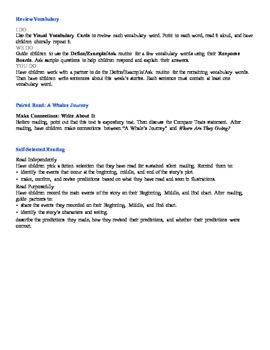 Wonders 2nd Grade Unit 2 Week 1 On Level Small Group Plans FREEBIE