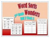 Wonders 2nd Grade Unit 2 Week 3 Spelling Word Sort