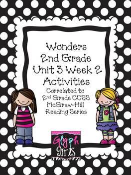 Wonders 2nd Grade Unit 3 Activities Week 2