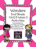 Wonders 2nd Grade Unit 3 Activities Week 5