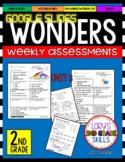 Wonders 2nd Grade Unit 3 Assessment GOOGLE SLIDES