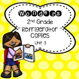 Wonders 2nd Grade Unit 3 Refrigerator Copy