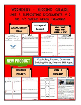 Wonders 2nd Grade Unit 3 Supporting Documents