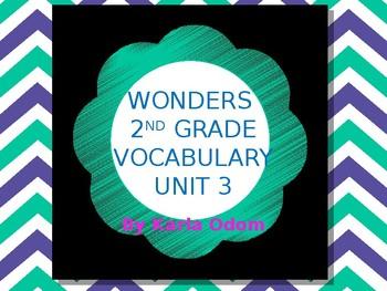 Wonders 2nd Grade Unit 3 Vocabulary