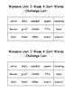 Wonders 2nd Grade Unit 3 Week 4 Spelling Word Sort