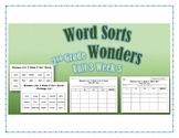 Wonders 2nd Grade Unit 3 Week 5 Spelling Word Sort