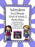 Wonders 2nd Grade Unit 4 Activities Week 1