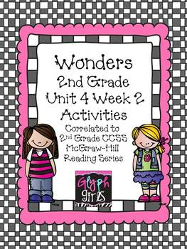 Wonders 2nd Grade Unit 4 Activities Week 2