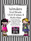 Wonders 2nd Grade Unit 4 Activities Week 4