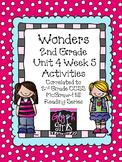 Wonders 2nd Grade Unit 4 Activities Week 5