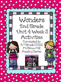 Wonders 2nd Grade Unit 4 Activities Week 5