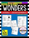 Wonders 2nd Grade Unit 4 Assessment GOOGLE SLIDES