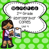 Wonders 2nd Grade Unit 4 Refrigerator Copy
