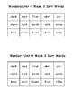 Wonders 2nd Grade Unit 4 Week 2 Spelling Word Sort