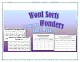 Wonders 2nd Grade Unit 4 Week 5 Spelling Word Sort