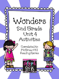 Wonders 2nd Grade Unit 4, Weeks 1-5