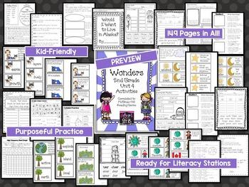 Wonders 2nd Grade Unit 4, Weeks 1-5
