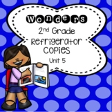 Wonders 2nd Grade Unit 5 Refrigerator Copy
