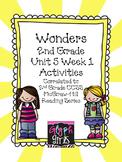 Wonders 2nd Grade Unit 5, Week 1