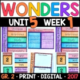 Wonders 2nd Grade, Unit 5 Week 1: Grace for President Interactive Supplements