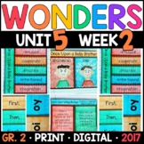 Wonders 2nd Grade, Unit 5 Week 2: Once Upon a Baby Brother Supplements