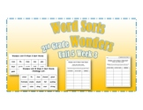 Wonders 2nd Grade Unit 5 Week 3 Spelling Word Sort