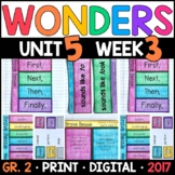Wonders 2nd Grade, Unit 5 Week 3: Brave Bessie Interactive Supplements