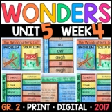 Wonders 2nd Grade, Unit 5 Week 4: The Woodcutter's Gift Interactive Supplements