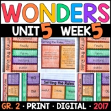 Wonders 2nd Grade, Unit 5 Week 5: Setting the Rules Interactive Supplements