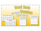 Wonders 2nd Grade Unit 5 Week 5 Spelling Word Sort