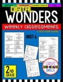 Wonders 2nd Grade Unit 6 Assessment GOOGLE SLIDES