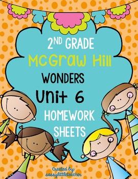 Wonders 2nd Grade Unit 6 Homework Sheets
