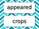 Wonders 2nd Grade Unit 6 Vocabulary