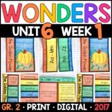 Wonders 2nd Grade, Unit 6 Week 1: The Golden Flower Interactive Supplements